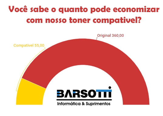 Comparativo toner compativel
