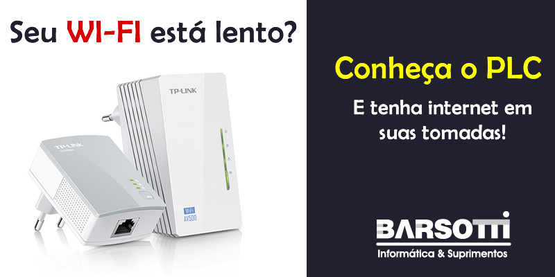 PLC - Solução do seus problemas de Wi-Fi